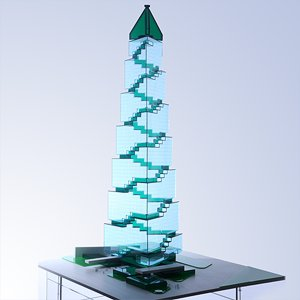 Green Skycraper